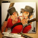 Scout and Tracer by Omar-Dogan