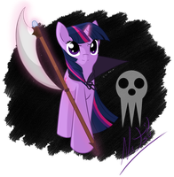 Twilight Sparkle - Soul Eater Crossover by Natsu714