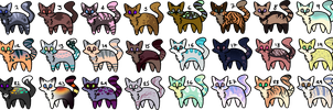 cheap cat adopts [22/30 open] by CursedHybrid