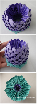 Origami 3D Lotus by OrigamiPieces