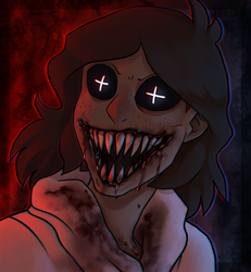 Possessed (With blood) by AccursedAsche