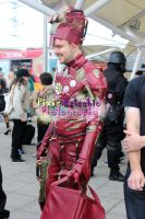 Steam Punk Iron Man cosplay, MCM Expo October 2013 by Pixie-Aztechia