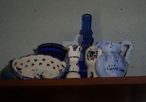 Pottery Into Oil by OtsegoKid