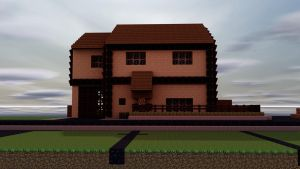 My Minecraft House by Flamingechoes