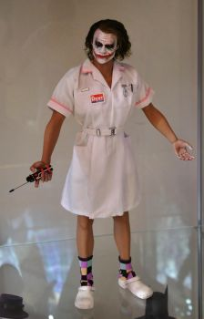 Hot Toys Joker Nurse Custom figure Dark Knight 1 by Shan-Lan