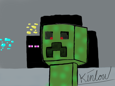 That little Creeper by Kintow