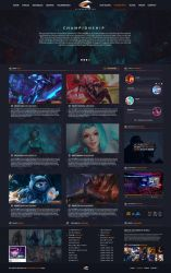 League Of Legends [Team Website 1.4.1] by Kickerblaster