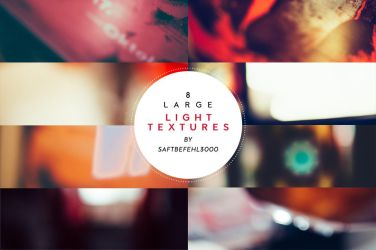 8 Large Light Textures / 01 by saftbefehl3000