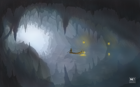 Pirate Cave by SamuelGauthier
