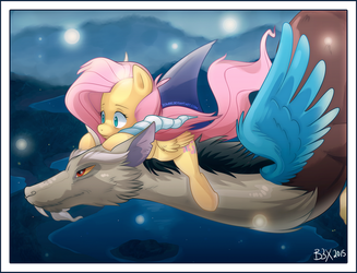 Flutters Away by zombie