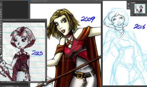 Draw it again MEME WIP by InkCell-Illustration