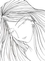 +LINEART+  Of Eternity by infiniteFinality