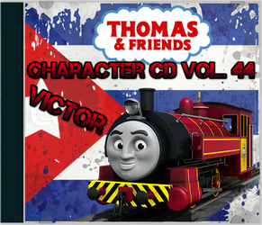 Thomas and Friends Character CD Vol 44 Victor by Galaxy-Afro