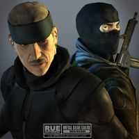 MGS Nostalgia HeadToHead by rue-different