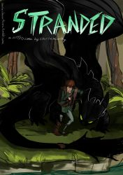 HTTYD Comic: Stranded Cover by CharlieMcCarthey
