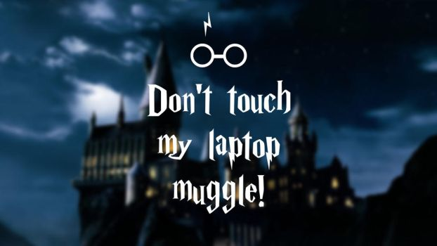 Harry Potter - laptop wallpaper muggle by NikitaL