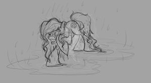 Maddy in the rain by Mad--Munchkin