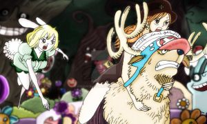One Piece 832+ Carrot Nami Whole Cake Island COLOR by Amanomoon