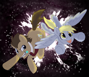 .:Allons-y, Derpy:. by Kayla-san