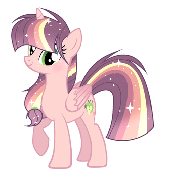 Princess Apple Star by 6FingersLoverYT