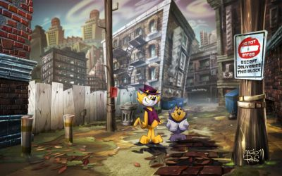 Don-Gato_Top-Cat Alley by MarioPons