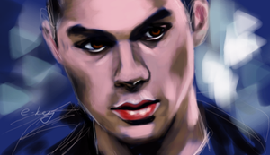 Stiles Teen wolf by E-key