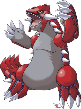 Groudon v.2 by Xous54