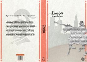 Book Cover Project 'Ivanhoe' by Sidera1993