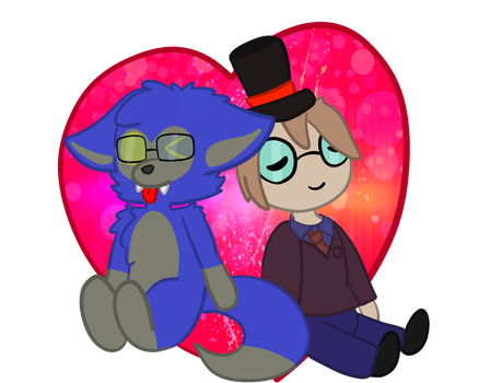 The cute love [Commission] by Bolnie