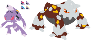Genesect and Heatran Base