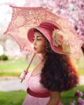 The girl with Umbrella by abeermalik