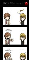 Death Note: Insults by SilentReaper