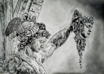Benvenuto Cellini, Perseus with the head of Medusa by FocusMind