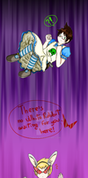 Jake: fall in White Rabbit's hole by ChibiGaia