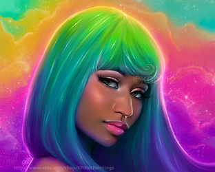 Nicki Minaj 2 by greendesire