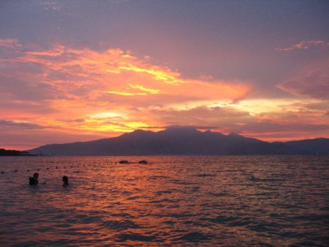 Subic Sunset by iamcaryl