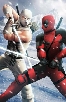 Deadpool X Shadow Storm by ferryo