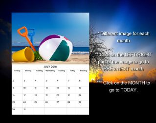 Real Calendar for xwidget by Jimking