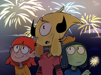 New year (2017) by Skele-Bros