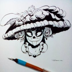 Inktober2015 day 7 by raultrevino