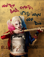 Harley With Mark by BlueBoxDesign
