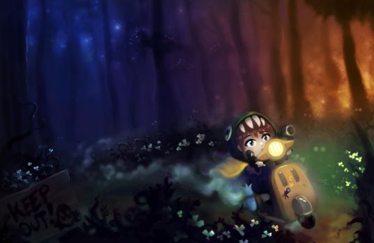 A Hat in Time - Subcon Forest by cubehero