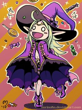 Witch Nowi by norinoko