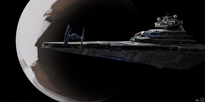 Star Destroyer by Syntaxide