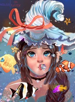 Ocean Witch by Naussi