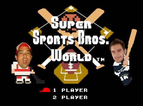 Super Sports Bros. World Title Screen by fatsfazoul