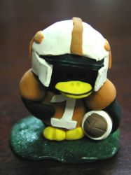 Tennessee football penguin by pinguinadearte