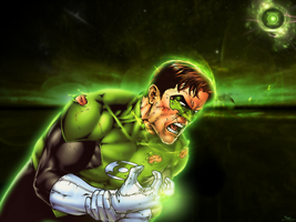 Green Lantern by Jagouille