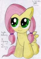 Fluttershy's Daughter - Spring Berry - OC by DanteIncognito