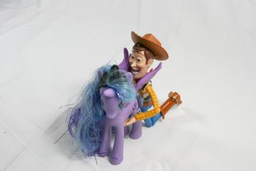 Woody Takes Advantage of Luna 1 by GeneveveX